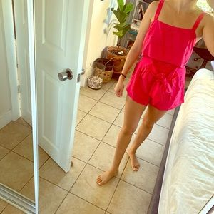 Billabong pink 2 piece set Bnwt